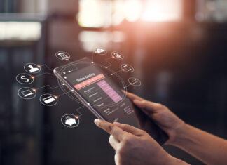 Conta digital no mobile