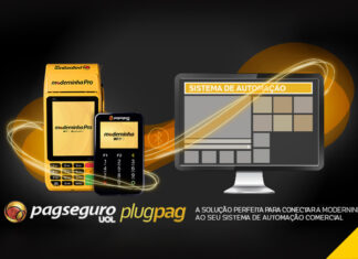 PlugPag solucao simplificada para automacao comercial moderninha